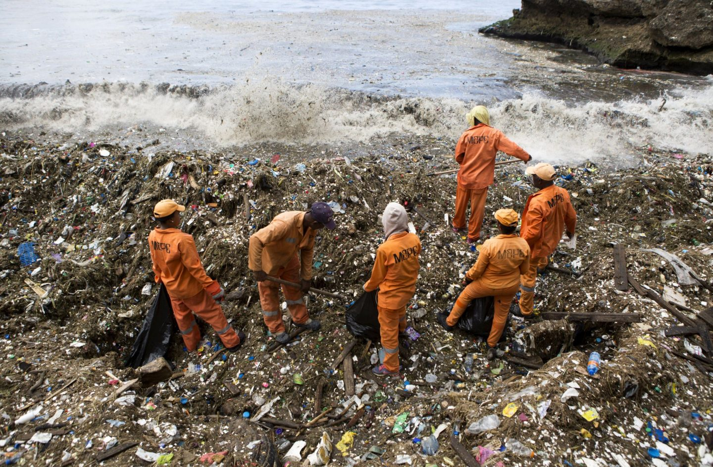 Wave After Wave of Garbage Hits the Dominican Republic